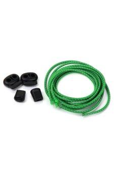 BolehDeals Footful Easy Fastenin Reflective Shoelace Green - intl