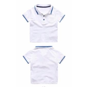 Áo Phông POLO (màu trắng)