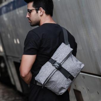 Túi đeo chéo nam HARAShop HR096 ( Xám )