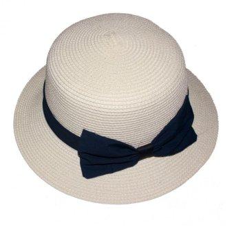 Mũ cói Thời Trang Nữ Vành Nhỏ Đi Biển Salome Fashion