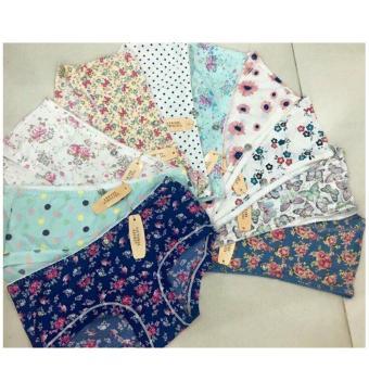 Bộ 10 quần cotton thun lạnh Thái Lan họa tiết MPS01512