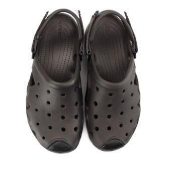 Giày lười nam Crocs Swiftwater Clog M Esp/Blk 202251-23K (Đen)