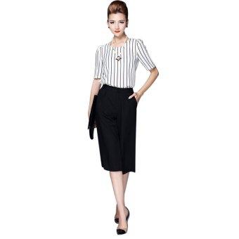 Bộ trang phục Zahra SET55 (Trắng đen)