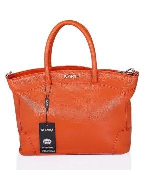 Túi xách nữ da thật Blanda 013 (Cam)