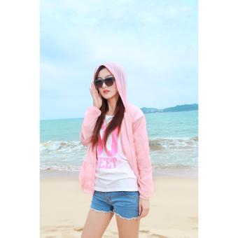 Áo chống nắng và tia UV Sodoha UVAB1285 pink