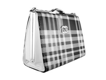 Túi xách đeo chéo A01 (Đen Sọc)