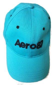 Nón nam phong cách thể thao Aeropostale logo cap (Xanh)