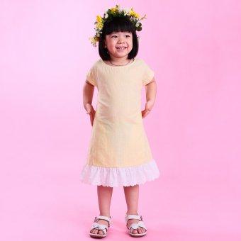 Đầm bé gái Ugether UKID39 (Sọc vàng)