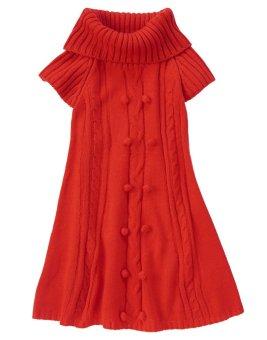 Áo váy len ngắn tay Crazy8 34823 Really Red (Đỏ)
