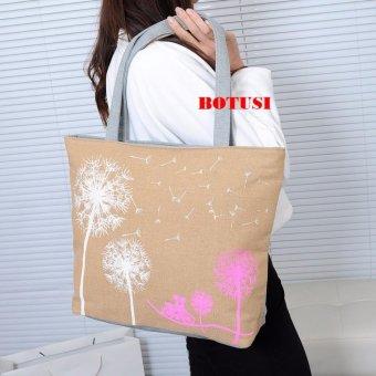 Túi xách tone vải đeo vai SPH-HGIACMACH01(NÂU)