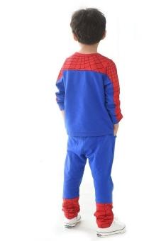 Quần áo người nhện Spider Man 140cm