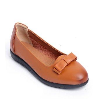 Giày búp bê FA954 - Bò