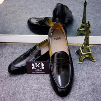 Giày nam cao cấp Kazin màu đen KZD0021
