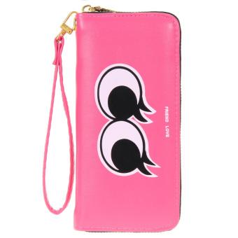 Women Cute Wallet Hot pink - intl