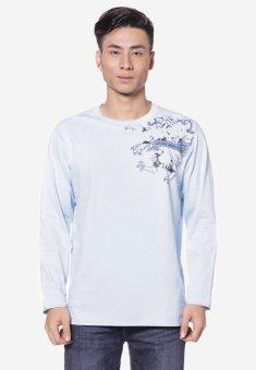 Áo phông OASIS Thái Lan MTXL456 (Xanh)