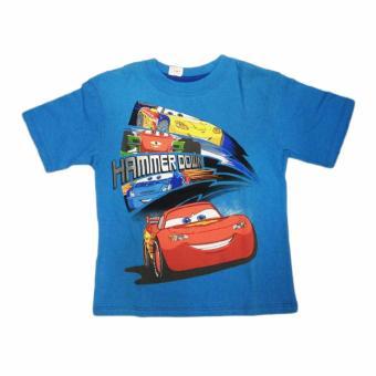 Áo thun bé trai Car Mc Queen Hammer Down - Tay ngắn - Size 5-6 tuổi