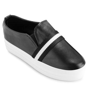 Giày bata nữ Sarisiu XS747 (Đen)