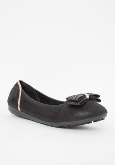 Giày búp bê có nơ LARA HMF 701 B