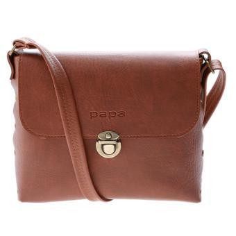 Túi đeo chéo nữ PAPA PPT003 (bò đậm)
