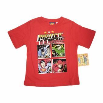 Áo thun bé trai Justice League - Tay ngắn - Size 3/4