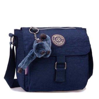 Fashion Women Waterproof Nylon Shoulder Diagonal Bag Messenger - intl