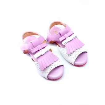 Giày santal tua rua (Tím)