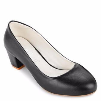 Giày gót vuông 5f Sarisiu SRS825 (Đen)