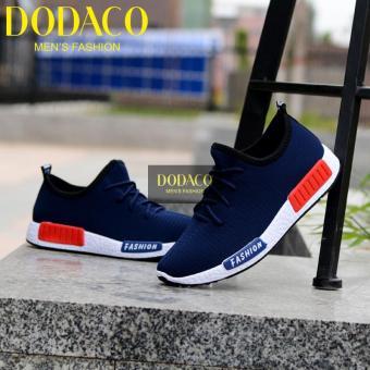 Giày Sneaker Nam Thời Trang DODACO DDC1809 A XA GNA 39 - 43 (Xanh)