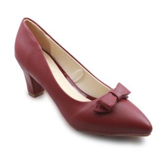 Giày cao gót Galanti G097 (Đỏ đô)