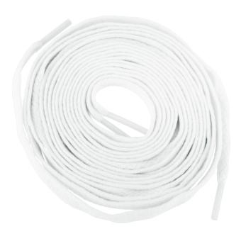 BolehDeals Elastic Roller Skate Shoe Laces Sneakers Shoelaces Strings Laces -1.8m White - intl