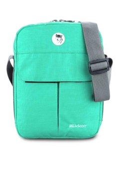 Túi iPad đeo hông Mikkor Glamour Chic New (Xanh Ngọc)