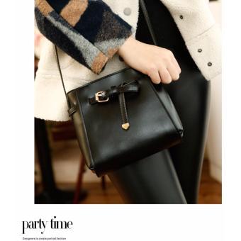Túi xách đeo chéo thời trang nơ VA01(Đen)