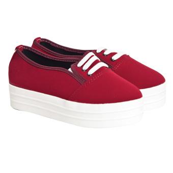 Giày bata cổ thấp Sarisiu XT738 (Đỏ)