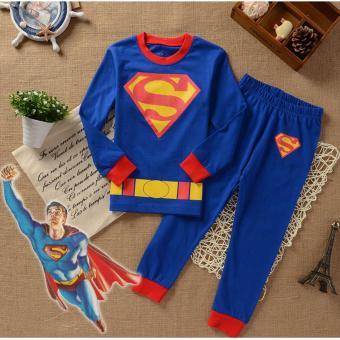 Mua Quần áo siêu nhân Super Man 7Gift Shop (Xanh dương) giá tốt nhất