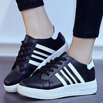 Giày Sneaker Nữ Msp 2630 (Đen)