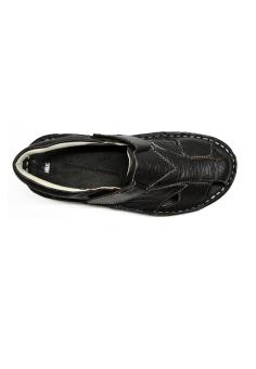 Sandal rọ quai da mặt da 8225D