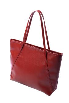 Fashion Tote Bag Ladies Fashine Handbag Red - Intl - intl