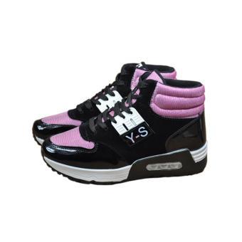 Giày Sneaker Thời Trang G2218(Đen Hồng)