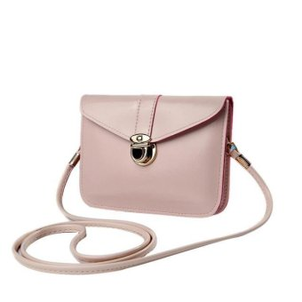 Fashion Zero Purse Bag Leather Handbag Single Shoulder Messenger Phone Bag - intl