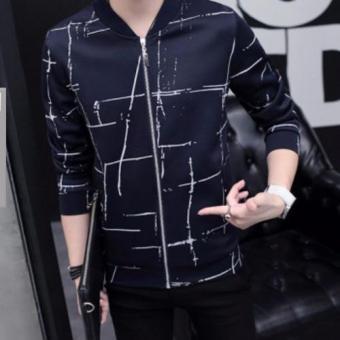 Áo khoác nam cực chất L&A fashion 2016 (Xanh đen)