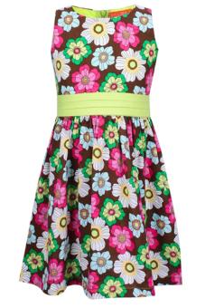 Đầm bé gái V.T.A.Kids BG50205 (hoa)