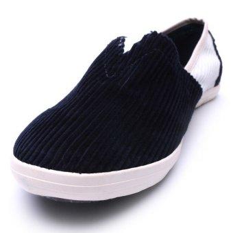 Giày lười nam hiệu Aqua Sportswear L002K (Xanh phối tráng)