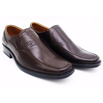 Giày da không buộc dây Pierre Cardin LB063-BROWN