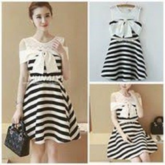 Váy thu kẻ- CN27