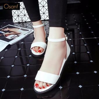 Giày Xăng Đan Nữ Thanh Lịch - SD001 (Trắng)