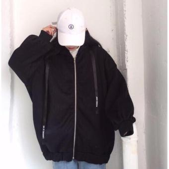 Áo Khoác Hoodie nữ - áo nỉ nữ-áo nữ form rộng- NiRong1978