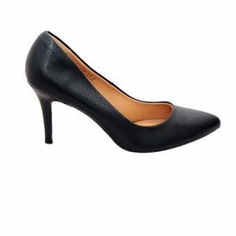 Giày Nữ Cao Gót 9cm Da Tổng Hợp (Đen)