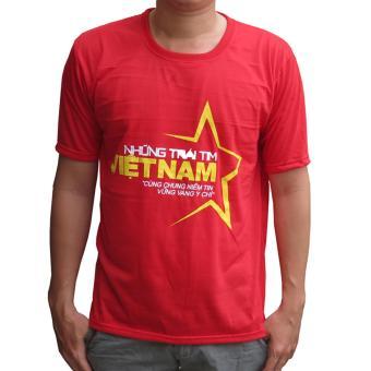 Áo cờ đỏ sao vàng nam Vương Kim Thành ACDSV03NA ( Đỏ )