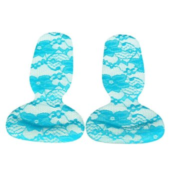 Silicone Gel High Heel Liner Grip Cushion Protector Foot Care Shoe Insole Pad UK Comfortable Breathable Blue - intl