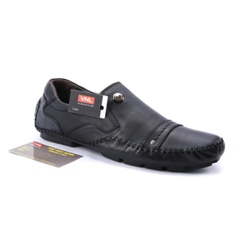 Giày lười nam da thật Da giày Việt Nam VNLMOS8A99-1D